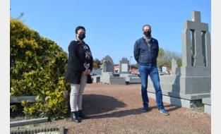 """Wervik vergroent begraafplaatsen: """"Vraagt meer onderhoud, maar goed voor ontharding"""""""