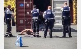 """Criminelen die zelf politie belden toen ze opgesloten raakten in container: """"Bazen lieten ons aan ons lot over"""""""