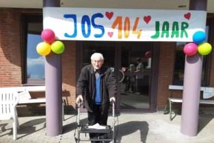 Oudste inwoner Jos Kets viert 104de verjaardag