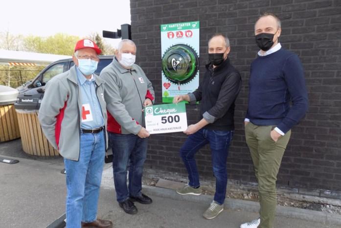 Klanten sparen mee voor AED-toestel aan Spar Lichtaart