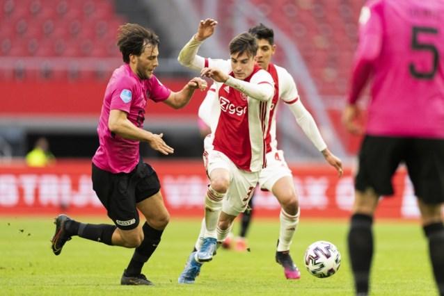 Utrecht houdt Ajax in bedwang