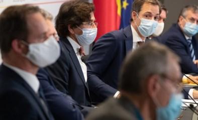 Regering versus regio's: het botst alweer in aanloop naar Overlegcomité, maar hoe hard zal het spel gespeeld worden?