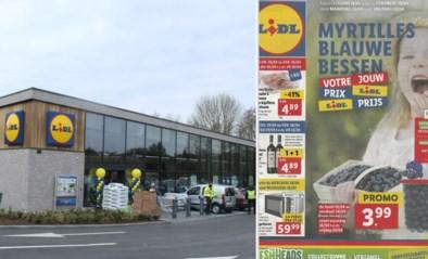 Tweetalige folder Lidl schiet bij Vlaams Belang in het verkeerde keelgat