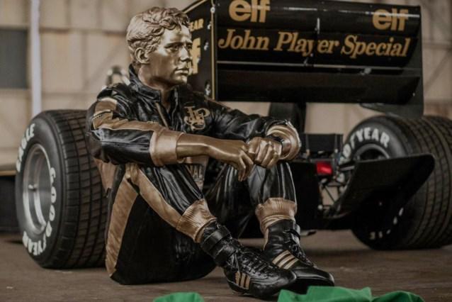Prachtig bronzen beeld van Ayrton Senna onthuld