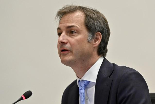 Brief met verdacht poeder aangekomen op kabinet van premier De Croo: Wetstraat even afgesloten