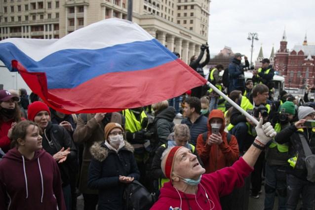 Navalny-aanhangers overal in Rusland de straat op, meer dan 1.500 arrestaties