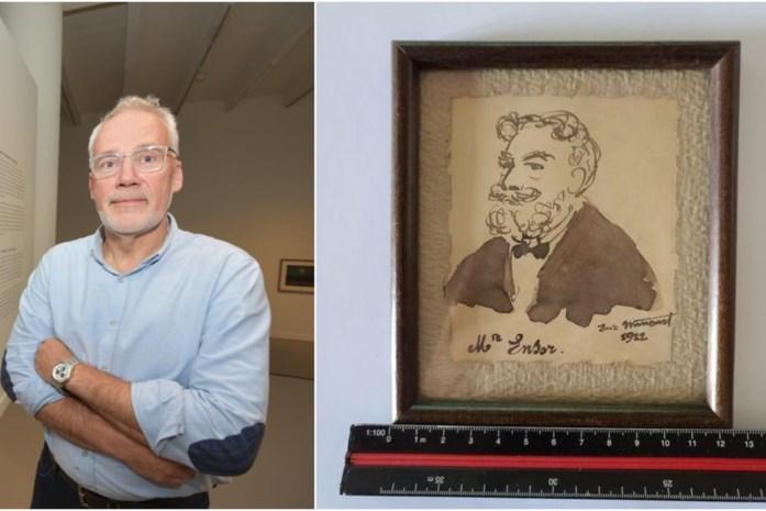 Gestolen en bijna 100 jaar oud schilderijtje duikt toevallig op bij onlineveiling, met dank aan gepensioneerde stadsmedewerker