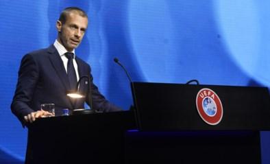 """UEFA-voorzitter Ceferin zalft wonden: """"Eindfase Champions League is niet in gevaar"""""""
