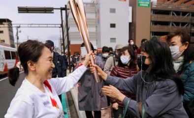 Eerste coronageval tijdens olympische fakkeltocht in Japan