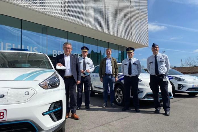 Vier elektrische voertuigen voor Brugse politie
