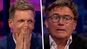 """Erik Van Looy trapt met open ogen in grap in 'De Cooke & Verhulst show"""": """"Focking hell, had echt kippenvel"""""""