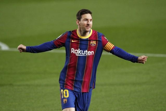 Lionel Messi houdt Barcelona in het spoor van Atlético en Real Madrid na zege tegen Getafe