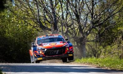 Thierry Neuville blijft nipt aan de leiding in Rally van Kroatië
