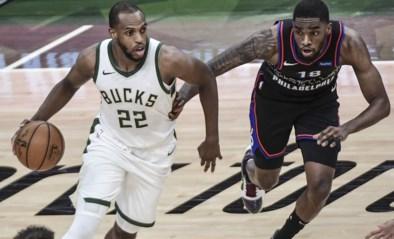 NBA-leider Philadelphia loopt tegen nederlaag aan in topper bij Milwaukee