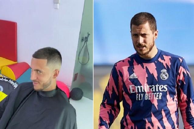 Eden Hazard laat kapper overvliegen naar Spanje voor nieuwe snit