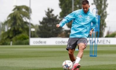 Daar is ie weer: Eden Hazard traint daags voor wedstrijd tegen Real Betis met de groep bij Real Madrid