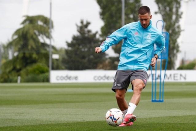 """Zinédine Zidane heeft goed nieuws over Eden Hazard: """"Hij zit in de selectie voor de wedstrijd van zaterdag"""""""