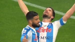 Mamma Mia! Dries Mertens in tranen na prachtgoal en nieuw record voor Napoli