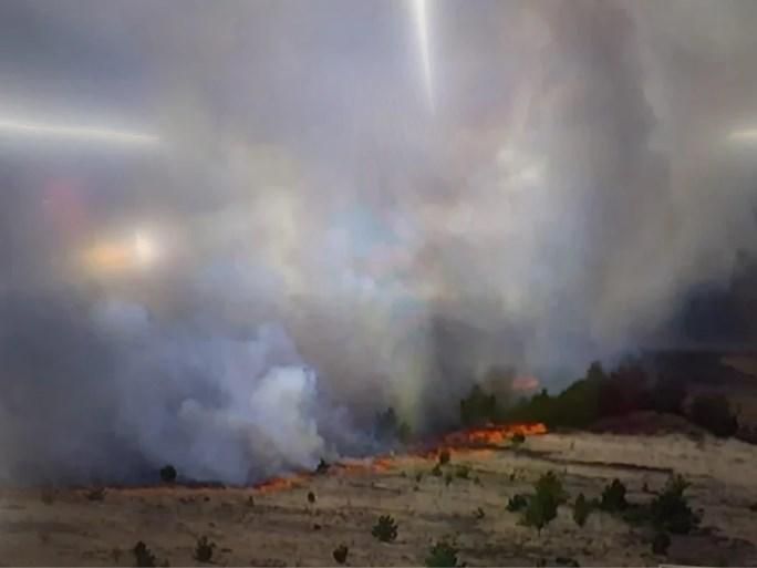 """Zware brand op militair domein na schietoefening: """"Situatie evolueert gunstig"""""""