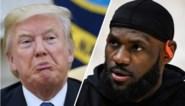 """Donald Trump haalt uit naar """"racistische uitlatingen"""" van LeBron James"""