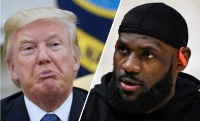 """Donald Trump haalt nog eens ouderwets uit: """"De racistische uitlatingen van LeBron James zijn hatelijk"""""""