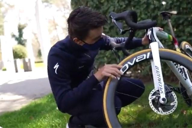Aan zijn fiets zal het zondag niet liggen: wereldkampioen Julian Alaphilippe krijgt splinternieuwe fiets voor Luik-Bastenaken-Luik