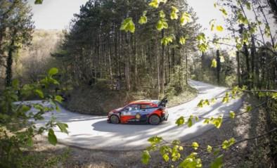 Thierry Neuville op kop, WK-leider Rovanperä crasht vlak na de start in Rally van Kroatië