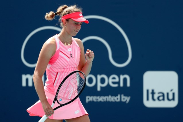 """Elise Mertens speelt voor halve finales op toernooi dat """"eigenlijk niet in agenda"""" stond: """"Mijn aanwezigheid is belangrijk"""""""