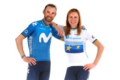 """Alejandro Valverde (41) en Annemiek van Vleuten (38), de oldtimers van Movistar: """"Flikker op met die leeftijd en kijk naar resultaten"""""""