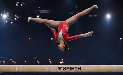 EK TURNEN. Van reservelijst naar de top tien: amper 15-jarige Jutta Verkest stunt tijdens allroundfinale