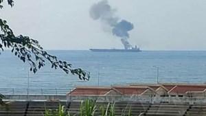 Droneaanval op olietanker voor Syrische kust