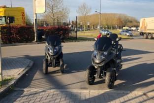 Politie neemt quad en driewielige brommers in beslag na gevaarlijk rijgedrag