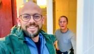 Staf Coppens krijgt bezoek van broer Mathias in Zweden