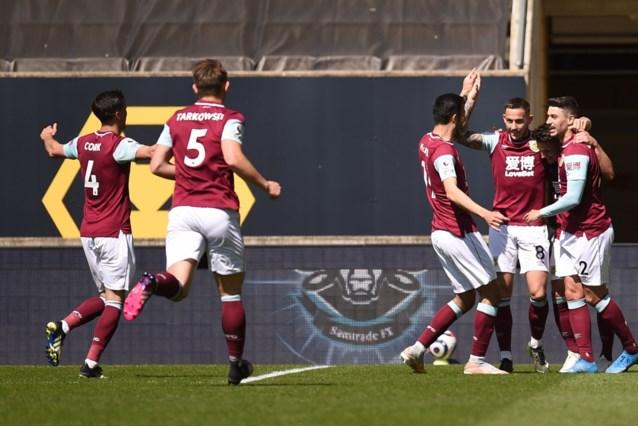 Wolverhampton en Dendoncker gaan in eigen huis zwaar onderuit tegen Burnley, Manchester United laat punten liggen