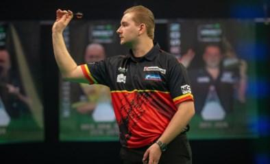 Luke Humphries houdt Dimitri Van den Bergh nipt uit finale in Niedrenhausen