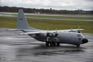 Iconische C-130 op stal in Bevekom (en niet in Melsbroek)
