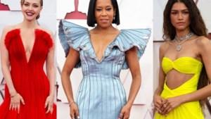 Weelderige sprookjesjurken en een streepje bloot: de mooiste jurken op de rode loper van de Oscars