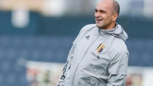 """Bondscoach Roberto Martinez zet zijn spelers op scherp: """"Voor de drie punten én plaats in EK-selectie"""""""