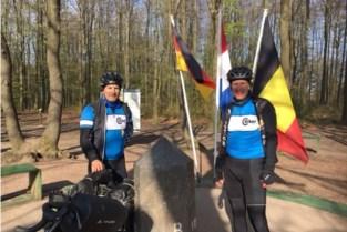 Fietstocht langs Belgische grens voor Kom op tegen Kanker