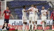 Lille zet scheve situatie nog helemaal recht in topper tegen Lyon en is opnieuw leider in Ligue 1