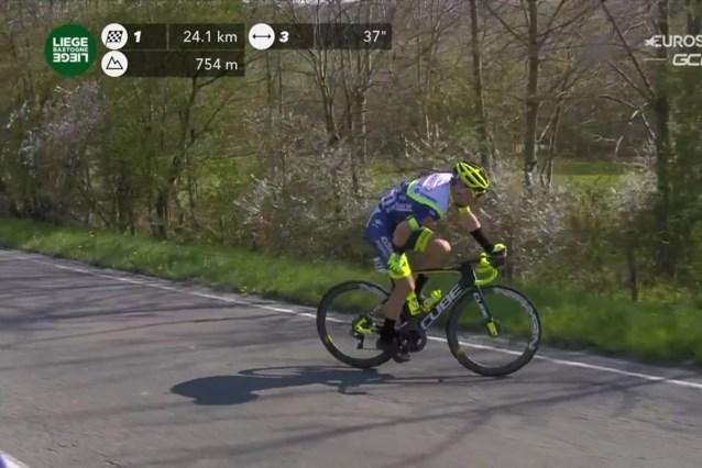 """Na monstervlucht en zware krampen tijdens Luik-Bastenaken-Luik trakteert Loïc Vliegen zich op """"het beste moment van het jaar"""""""