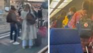 """Politie plukt honderden studenten die raamregel niet kunnen respecteren van overvolle trein: """"Coronaproof?"""""""
