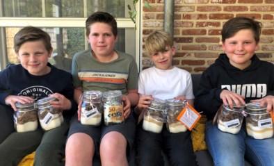 Broer en klasgenoten maken koekjesmix voor zieke Vic (6)