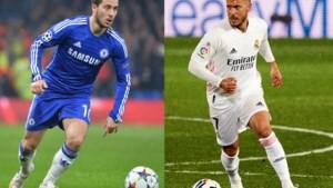 Zondagskind in Londen, zorgenkind in Madrid: de verschillen tussen de Hazard van Chelsea en de Hazard van Real