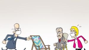 Oppositie probeert tevergeefs strenge afkeuring van sofagate te krijgen van Wilmès