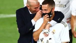 """Real Madrid-coach Zinédine Zidane ziet Hazard groeien: """"Hebben veel vertrouwen in Eden"""""""
