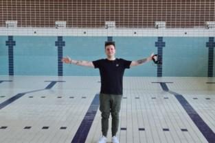 """Muzikaal afscheid van het oude zwembad van Landen met DJ Jonas: """"Met een online publiek, maar dat is een begin"""""""