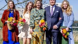 Koningin Máxima en prinsessen in Belgische mode op Koningsdag