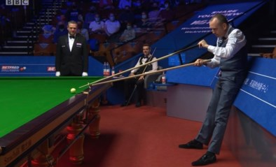'Welsh Potting Machine' Mark Williams test lachspieren van tegenstander en toeschouwers op WK Snooker