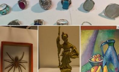 """Politie vindt honderden gestolen spullen terug bij oprollen dievenbende: """"Alleen al alles inventariseren is enorme klus"""""""
